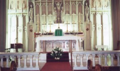 Main Altar at St. Peter's Church, Troy, New York
