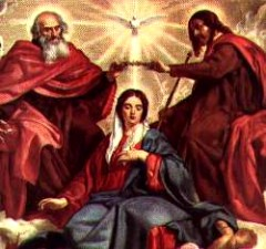 Mary Crowned by the Blessed Trinity