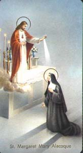 Christ Appearing to Saint Margaret Mary Alacoque