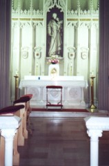 St. Joseph Altar, St. Peter's Church, Troy, NY