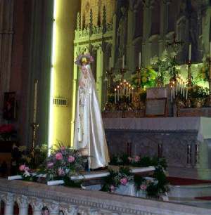 Statue of the Virgin Mary, St. Peter's, Troy, NY