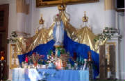 2004 Pilgrimage--Side Altar at St. Francis-Xavier