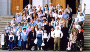 2004 Pilgrimage-The Pilgrims at Notre Dame du Cap