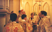 Cardinal Ratzinger Offering the Tradional Mass