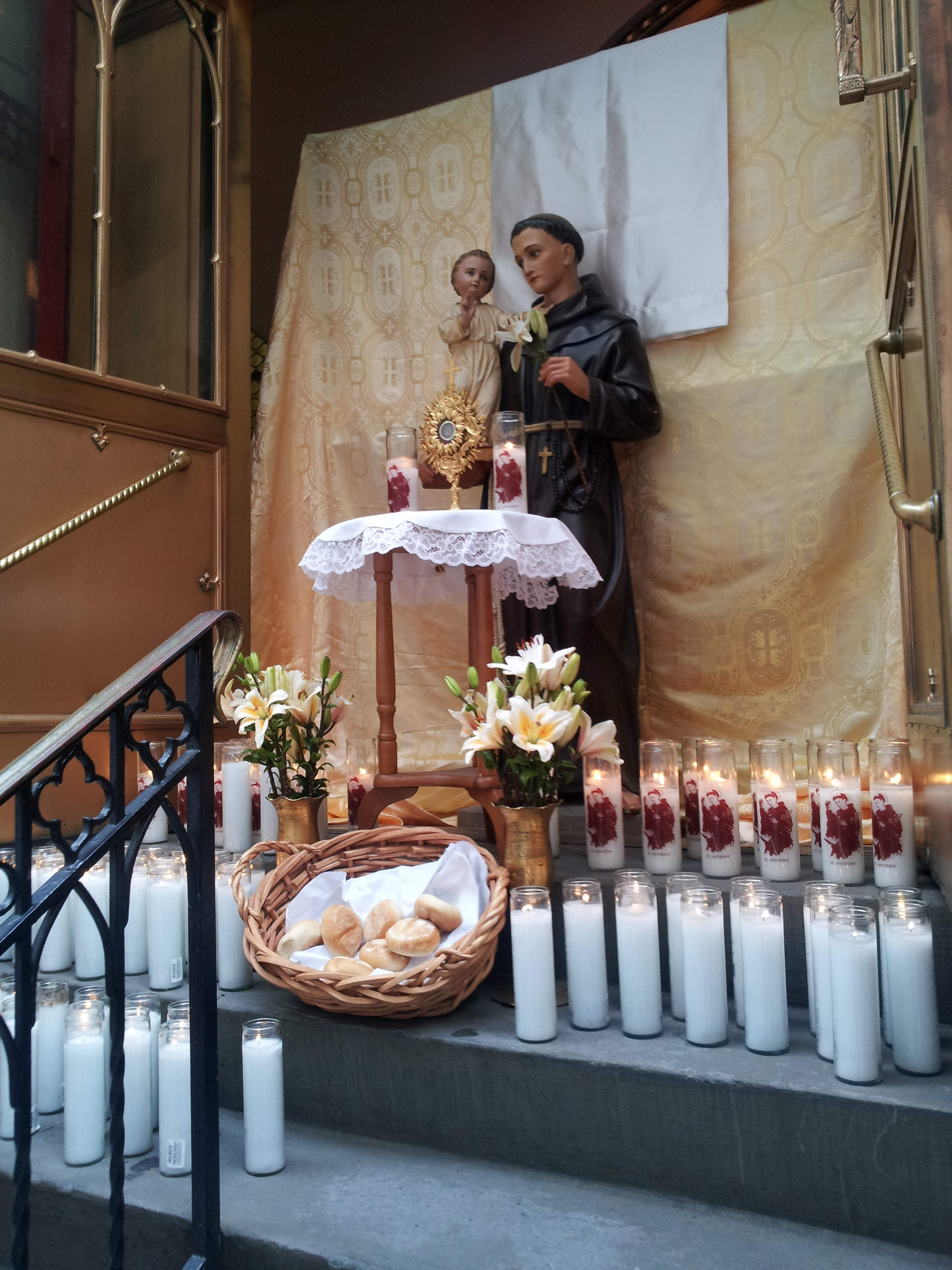 St. Anthony's Feast Day 2012 at Holy Innocents